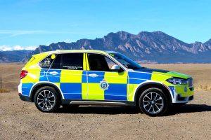 BMW X5 Police Vehicle Wrap