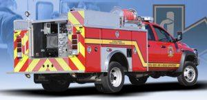 Castle Rock Fire Dept - Fire Truck Graphics