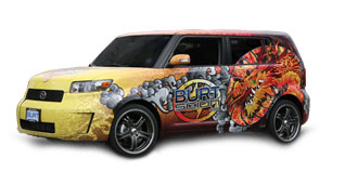 Scion XB Vehicle Graphics