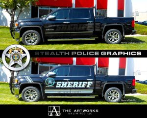 Sheriff Vehicle Stealth Graphics