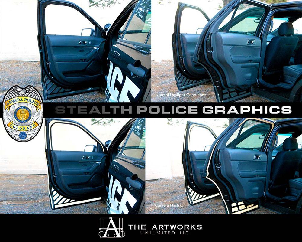Law Enforcement Chost Graphics