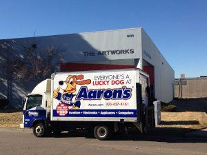Box Truck Fleet Vehicle Advertising