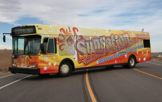 Sunsations Bus Wrap