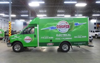 Cooper Electric Commercial Fleet Graphics