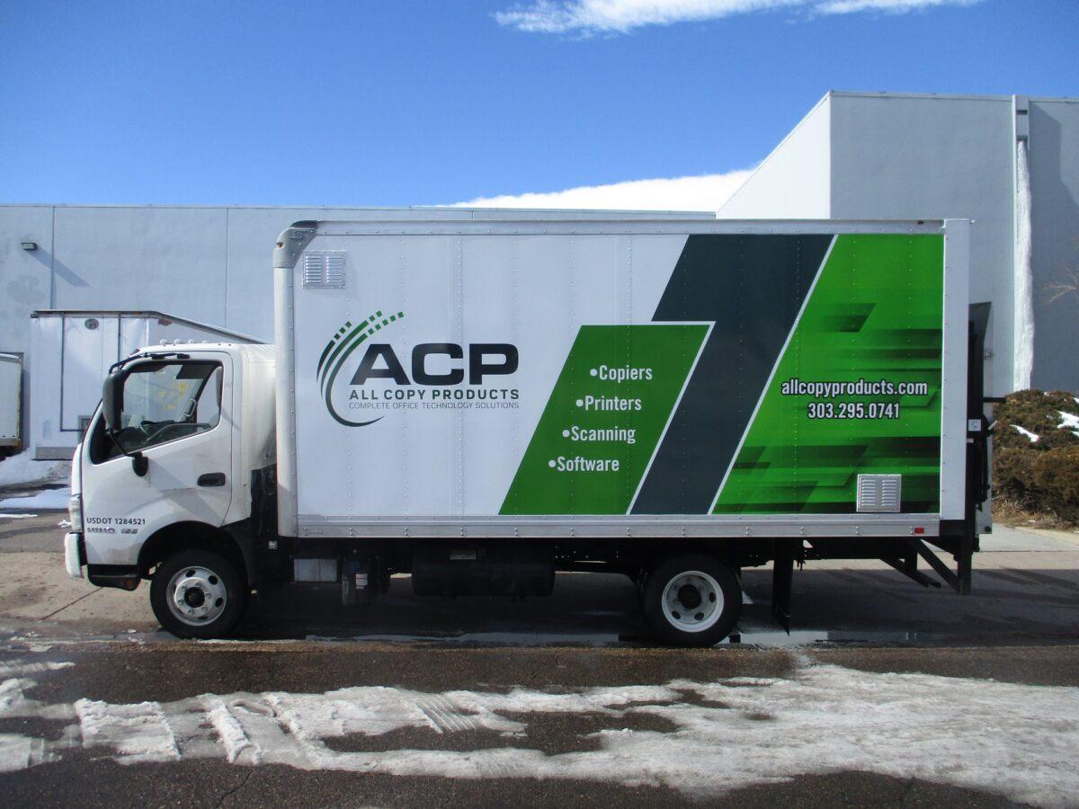 All Copy - Box Truck Fleet Graphics