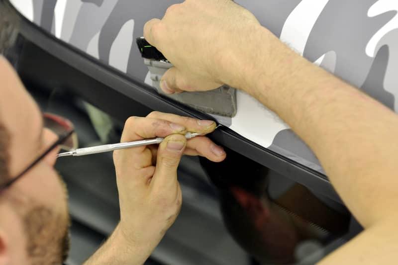 How to Repair a Vinyl Wrap