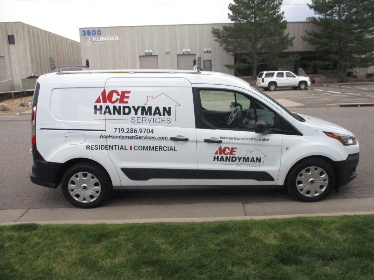Ace Handyman - Fleet Graphics