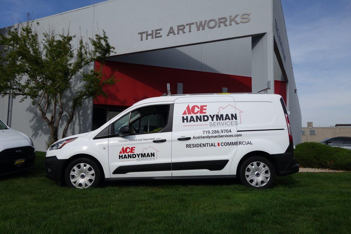 Ace Handyman - Commercial Fleet Graphics