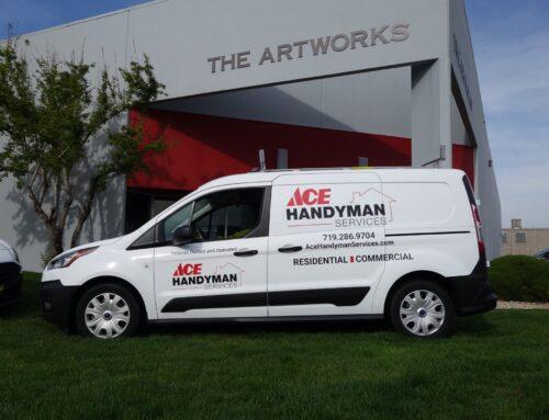 Ace Handyman Fleet Graphics