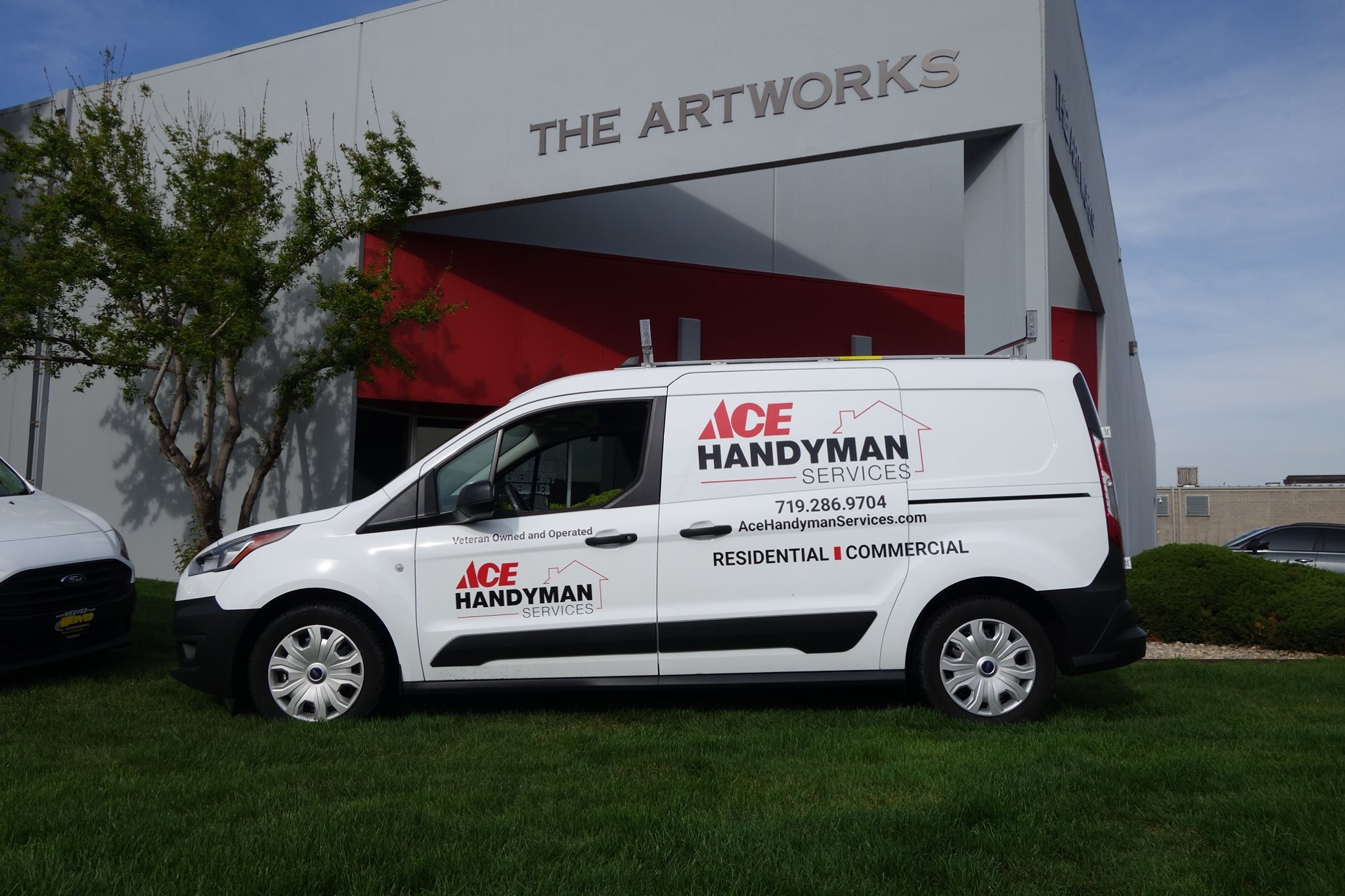 Ace Handyman - Commercial Fleet Graphics